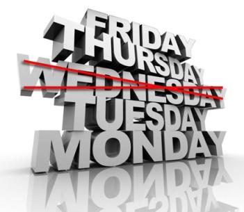 I hate Wednesdays