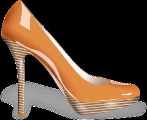 Pale colored shoes